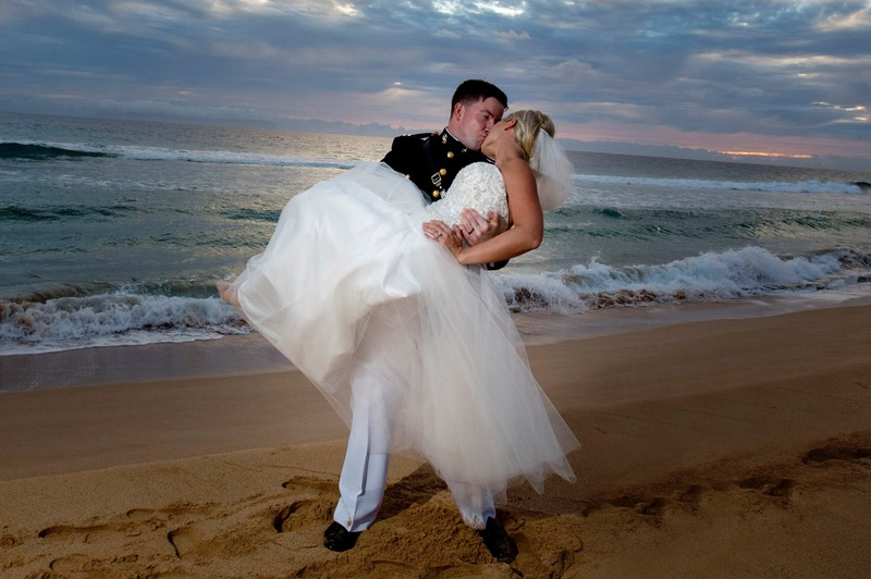 Marine's wedding at the PMRF Kauai photography by Difraser - top wedding photographers in Kauai