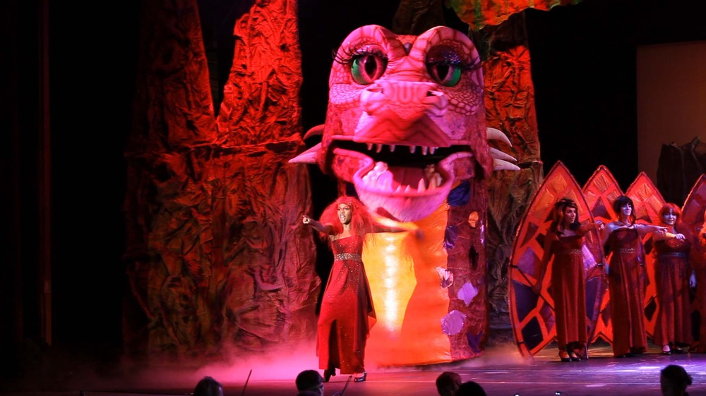 Shrek the musical by Kauai Children's theater filmed by Kauai photographer Difraser